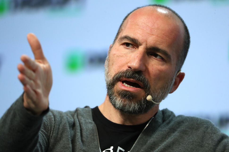 Dara Khosrowshahi Defends Uber COO Accused by NYT of Racist Talk