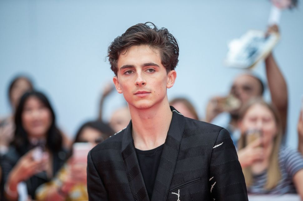Timothée Chalamet's Role in 'Dune' Could Launch Him Into Superstardom