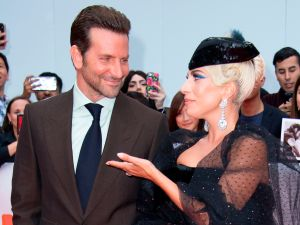 Cooper and Lady Gaga at the A Star is Born premiere.