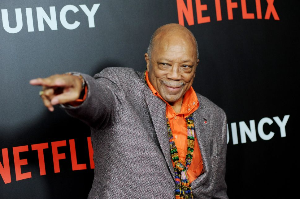 A New Netflix Doc Presents Quincy Jones as an Agreeable Yoda, But No One Is Fooled