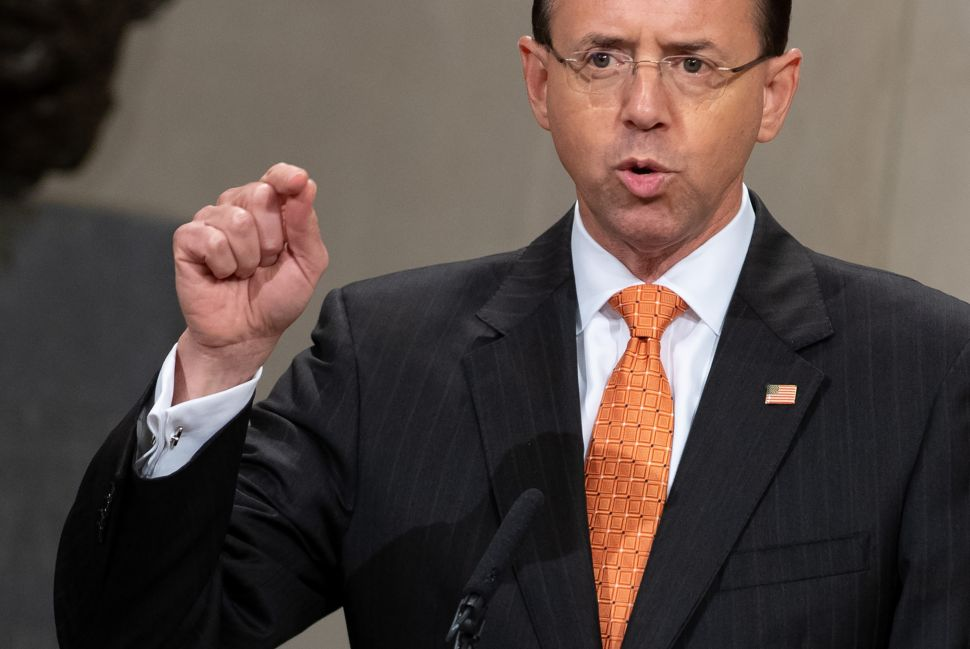Dems Rage and MAGAs Rejoice Over New York Times Rosenstein Wiretap Bombshell