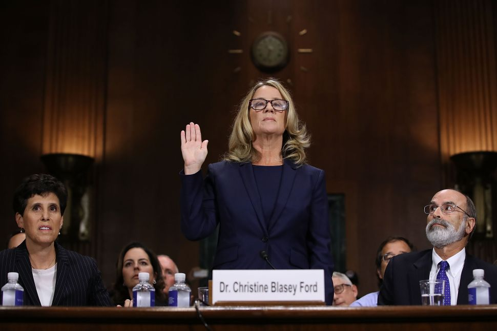 Christine Blasey Ford Describes 'Mounting Pressure' and Harassment From Reporters