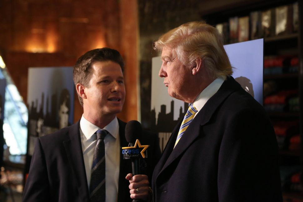 Trump Still Wants You to Think the Access Hollywood Tape Is Fake
