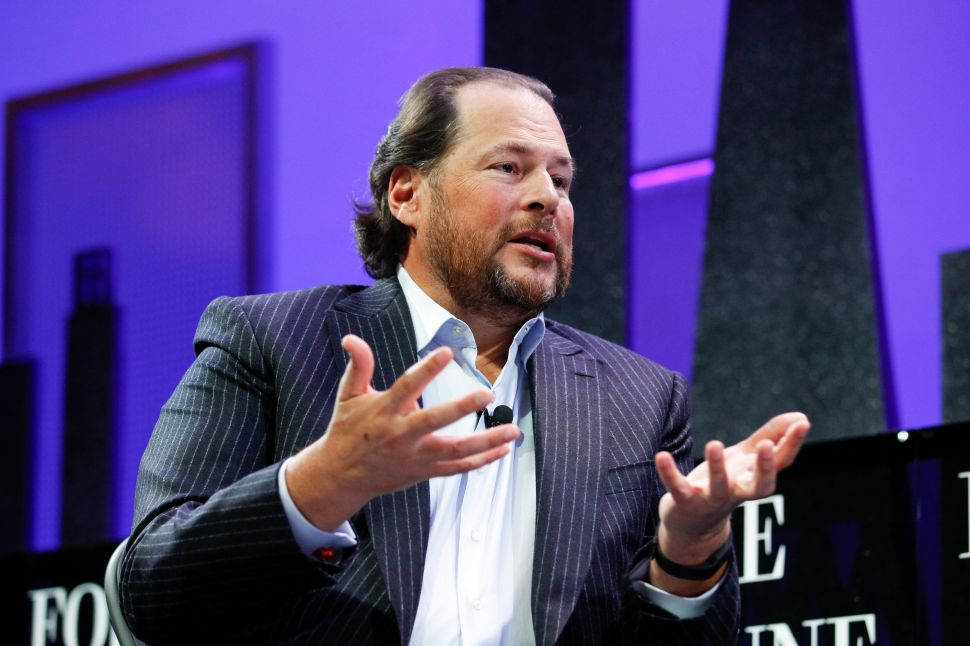 Marc Benioff's Time Magazine Purchase Shows What He Learned From Failed Twitter Bid