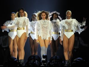 Beyoncé performs during the opening night of the Formation World Tour in Miami in 2016.