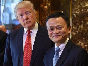 Trump and Jack Ma