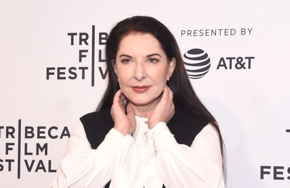 Marina Abramović Was Assaulted With a Painting of Herself