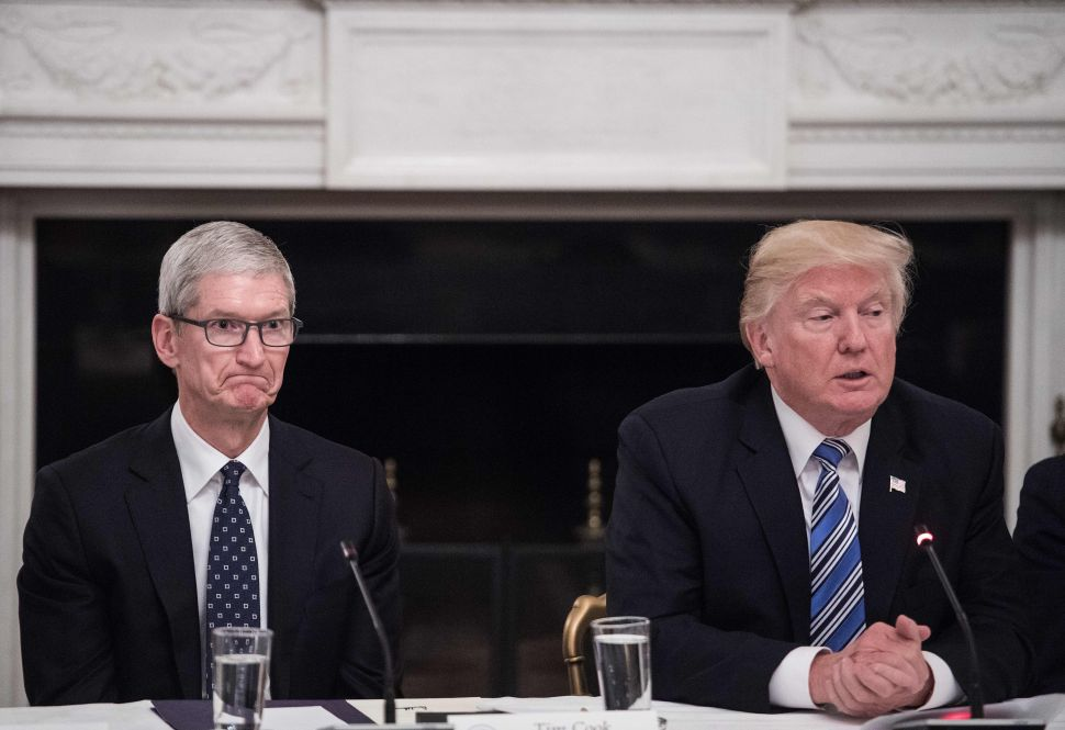 Did Tim Cook's Secret Meeting With Trump Save the Apple Watch From New Tariffs?