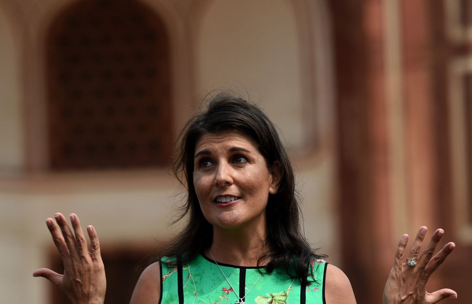 Nikki Haley Compares United Nations General Assembly to 'Speed Dating'