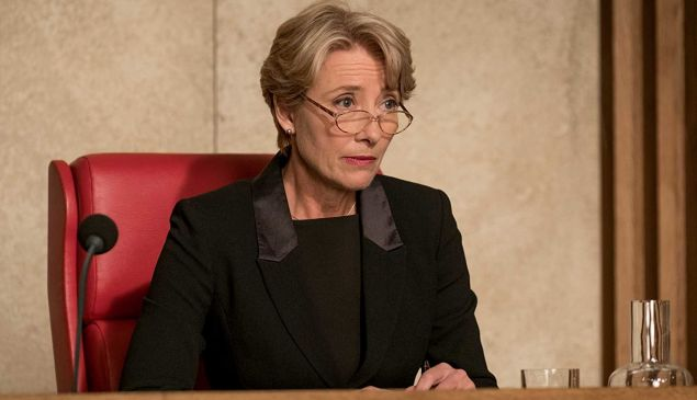 Emma Thompson in 'The Children Act'