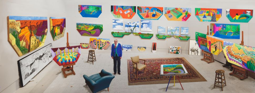 What Else to See During Expo Chicago: Sanford Biggers' New Work, Hockney Tackles Time and Space