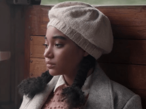 Amandla Stenberg plays Lenya, the daughter of a black father and a white German mother, in 'Where Hands Touch'