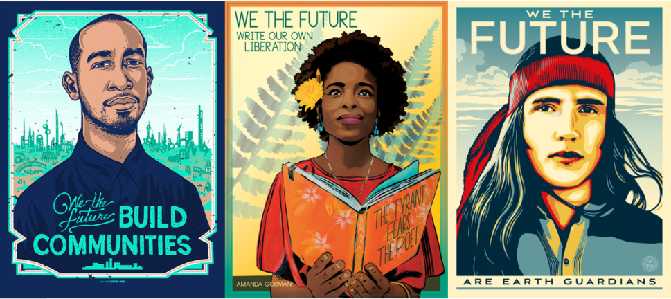Political Posters by Shepard Fairey and Others Are Coming to 20,000 US Classrooms