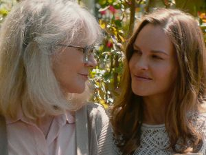 Blythe Danner and Hilary Swank in What They Had.