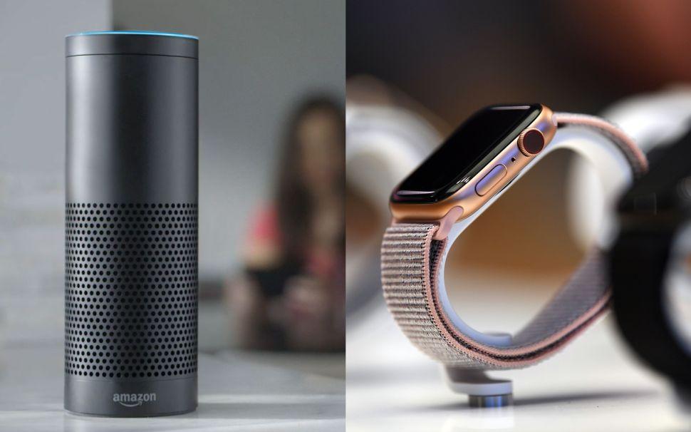 Amazon's Alexa and Apple Watch Are Now Digital Doctors