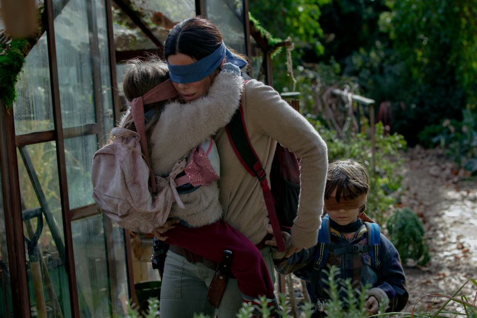 'Bird Box': What We Know About Sandra Bullock's Creepy-Looking Netflix Thriller