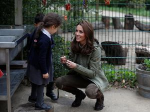 Kate Middleton returns from maternity leave