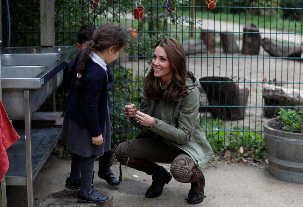 Kate Middleton's Royal Return From Maternity Leave Involved Gardens and Leaf Crowns