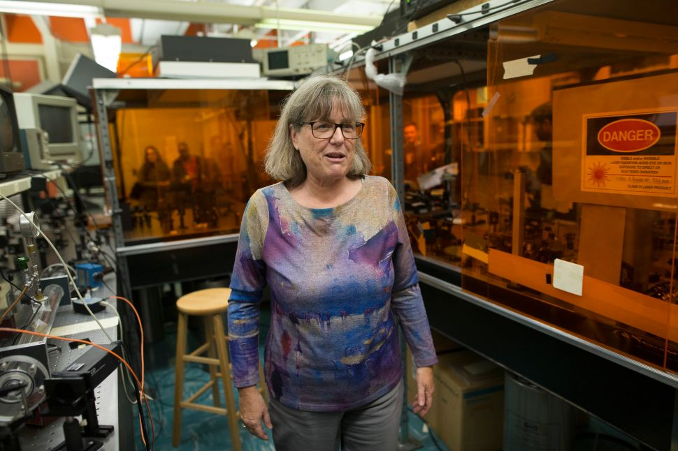Physicist Donna Strickland Had to Win a Nobel Prize to Get on Wikipedia