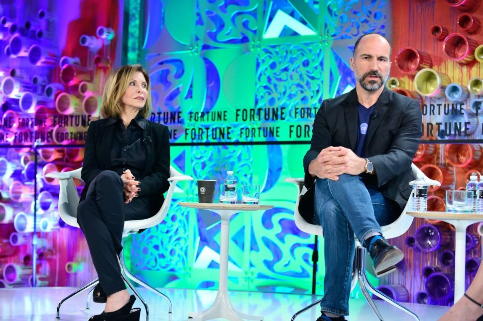 Uber CEO Dara Khosrowshahi Proves He's Totally Qualified to Speak at a Women's Summit