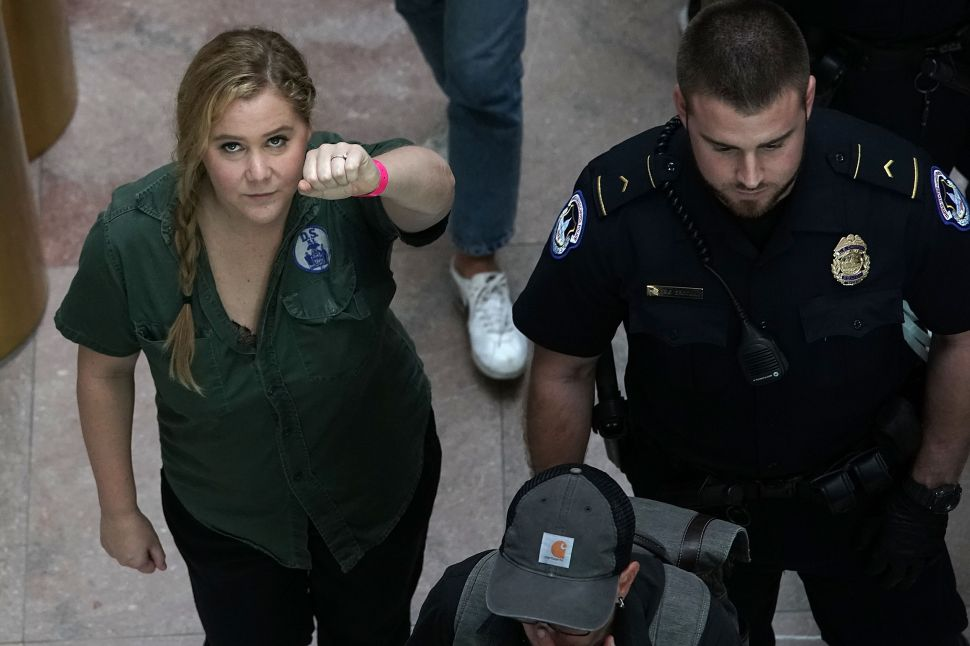 Amy Schumer Sounds Off on NFL Player Protests