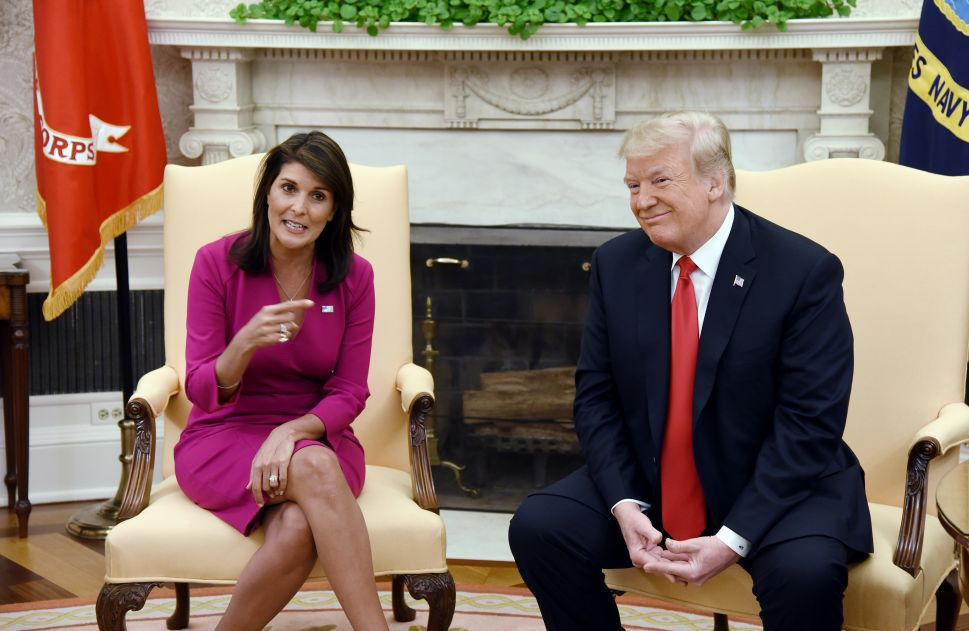 Nikki Haley: Don't Blame Shootings on Trump's Rhetoric, Unless I Do