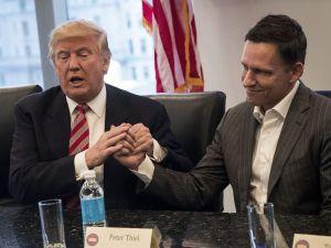 Peter Thiel and Donald Trump