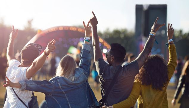 Music festivals: Only for those who still have energy and enthusiasm for life.