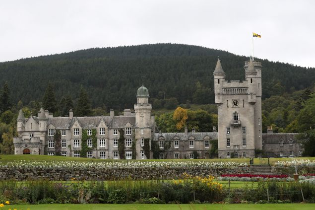 queen elizabeth is back from Balmoral Castle in Scotland