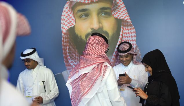 Saudi's Crown Prince Mohammed bin Salman is surreptitiously connected to a major deal that would create America's first-ever 5G network.