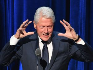 Bill Clinton attends Ripple Swell