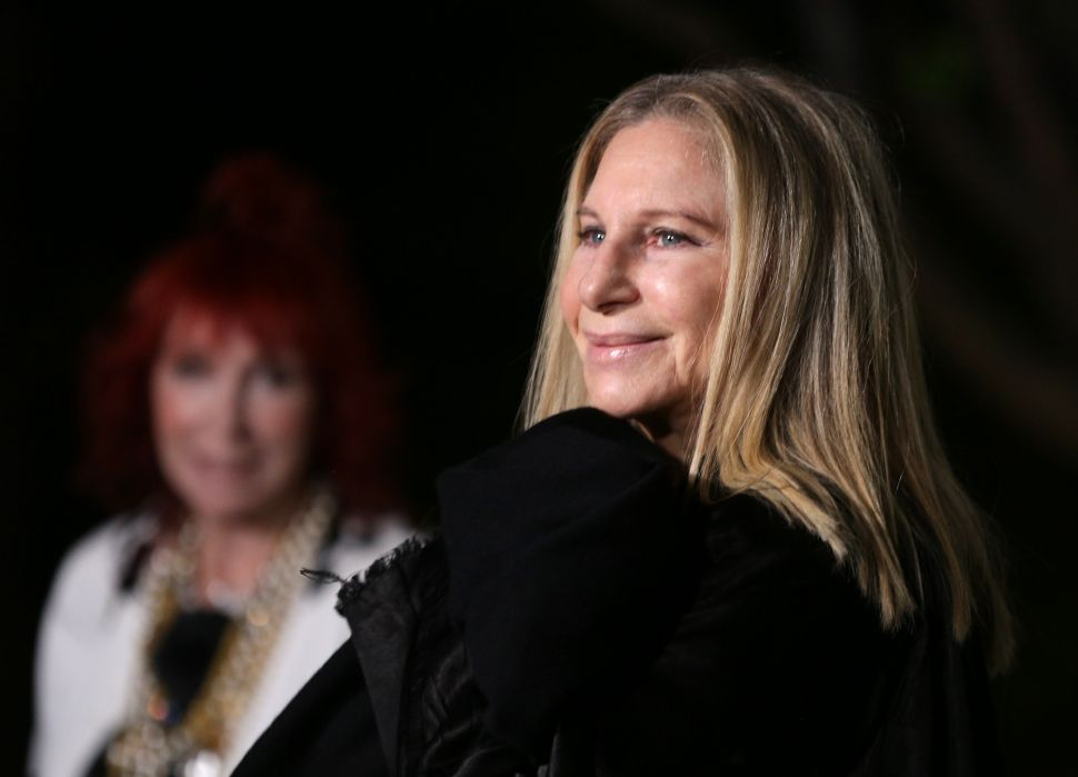 Barbra Streisand Is Pissed at Trump, So She Wrote a Pop Album About It