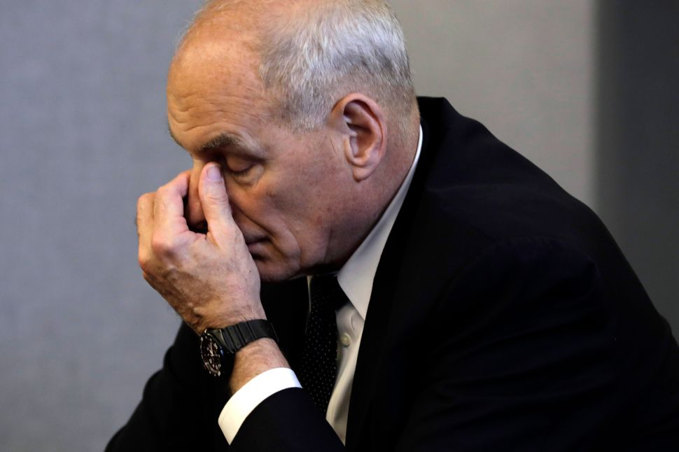 Ousted D-Listers of Trumpland Come Back to Haunt John Kelly Before Halloween