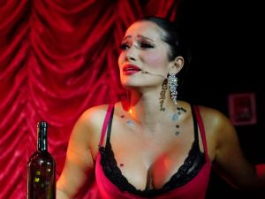 Catalina Cuervo turns on the sultry in NYCO's 'Maria de Buenos Aires'.