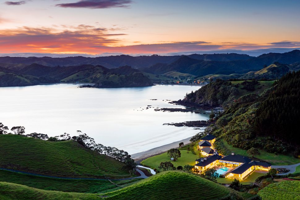 You Can Take a Helicopter to Hobbitland at This Insanely Exclusive New Zealand Resort