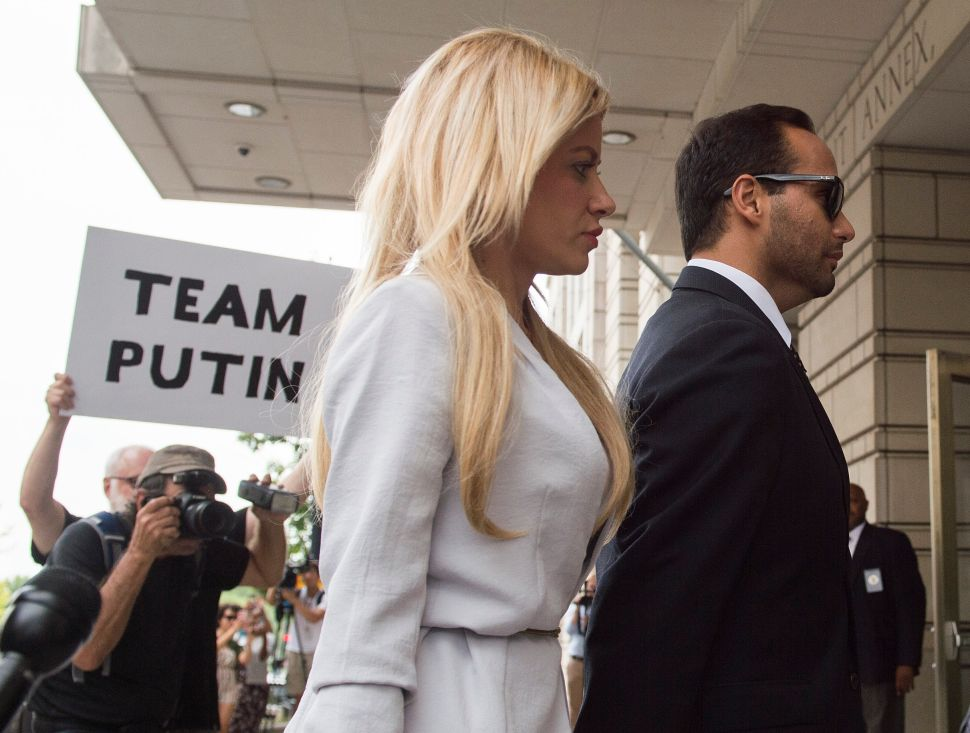George Papadopoulos's Own Family Reported His Accused-Kremlin Agent Wife to ICE