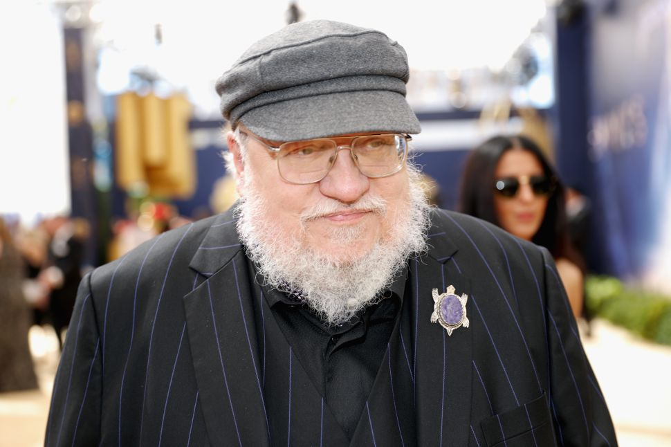George R.R. Martin Is as Pissed About His 'Winds of Winter' Writer's Block as You Are