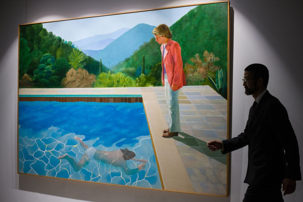 The Story Behind the David Hockney Pool Painting That Just Sold for $90.3 Million