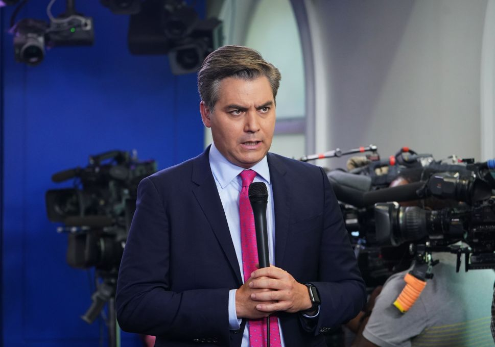 CNN Sues the Secret Service Agent Who Confiscated Jim Acosta's Press Pass