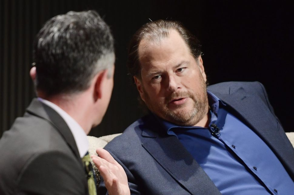 Marc Benioff on Midterm Election's Homeless Tax Bill: 'There Were No CEOs on My Side'
