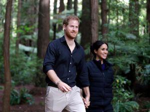 Prince Harry Meghan Markle New Zealand