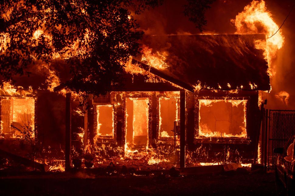 Climate Refugees and a Wildfire-Induced Homeless Crisis Devastate California