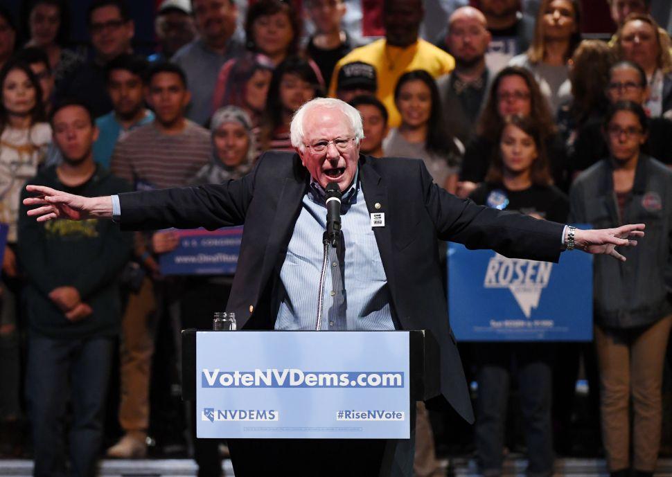 Bernie Sanders Accuses Brian Kemp and Ron DeSantis of Running 'Racist Campaigns'