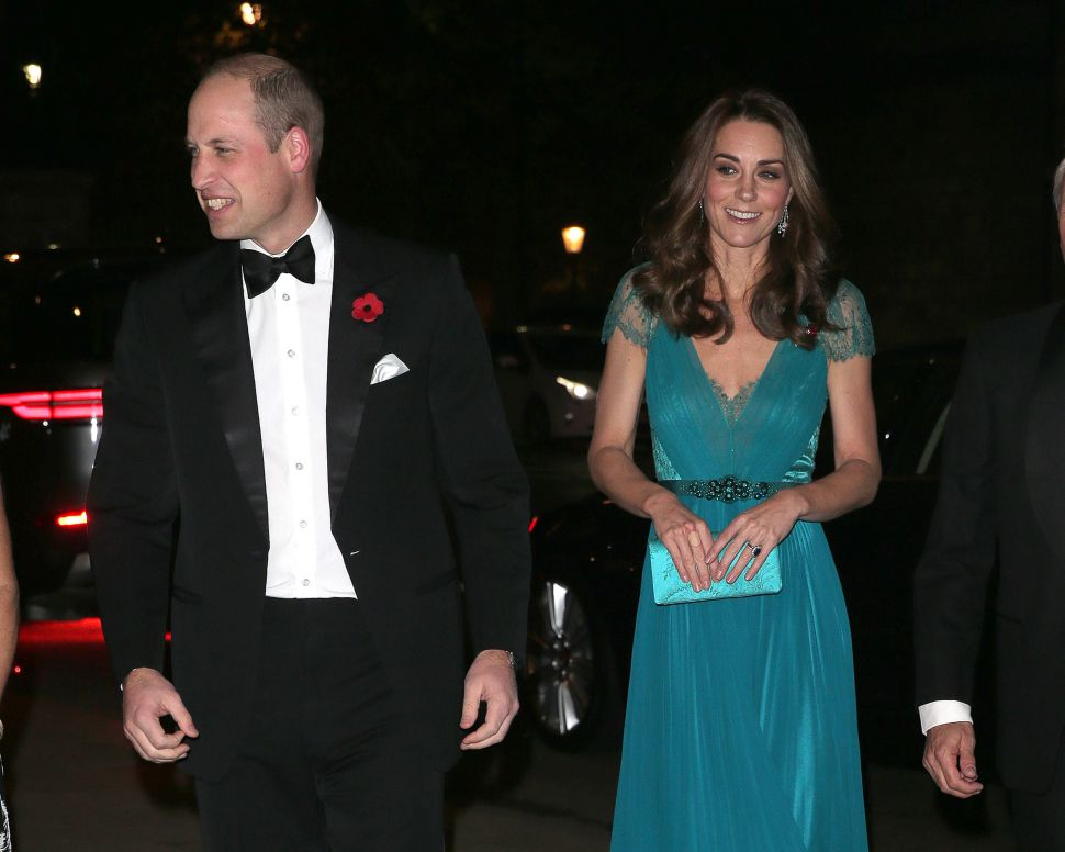 Kate Middleton Stole the Show in a Recycled Gown at the Tusk Conservation Awards