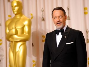 How can Tom Hanks get back in the Oscars game?