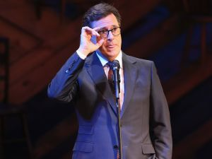Stephen Colbert's Late Show has been gaining momentum since Donald Trump took office.