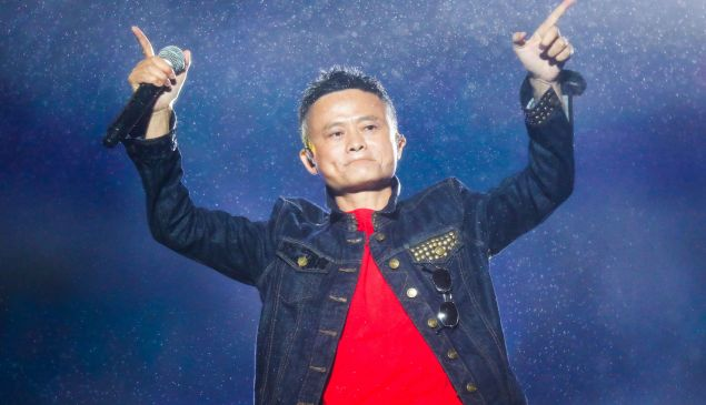 Jack Ma, founder and outgoing chairman of Alibaba.