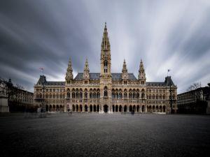 Vienna's town hall.