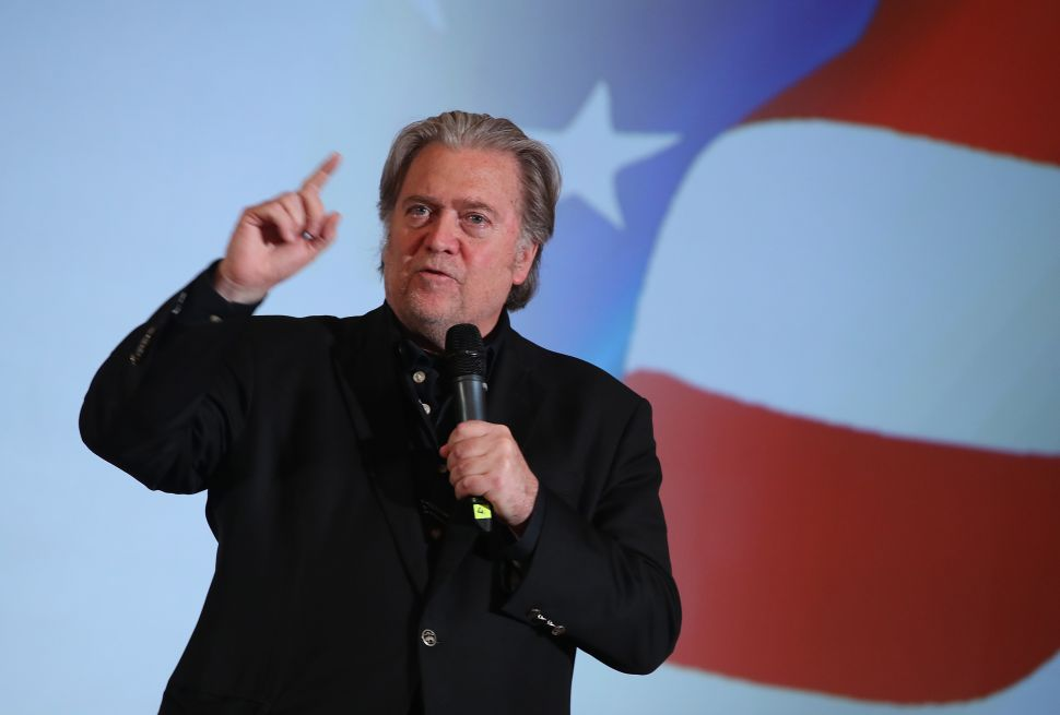 Steve Bannon Lashes Out At Fox News For Suppressing GOP Vote With Early Election Call