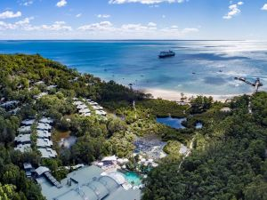 Kingfisher Bay Resort on Fraser Island.